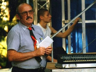 Franciszek Bachór, kierownik Festiwalu