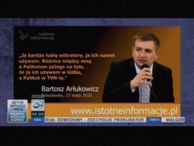 """Kadr z piątkowego programu """"Szkło kontaktowe"""" TVN24"""