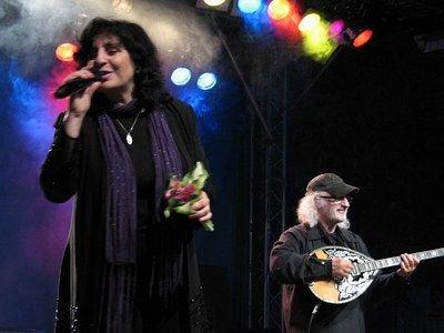 Eleni na koncercie w Bolesławcu