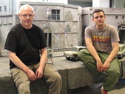 Krzysztof Wierzbowski i Bartłomiej Kaszubski ze studia Se-ma-for