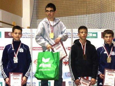 Krzysztof Jasiński zdobył złoty medal na Mistrzostwach Polski Seniorów w Taekwondo