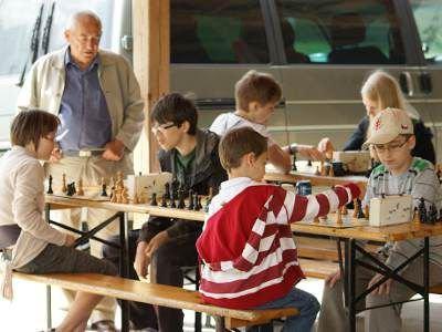 Oprócz turnieju piłkarskiego odbył się także turniej szachowy