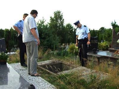 Odkryty grobowiec jeszcze dziś zostanie zabezpieczony