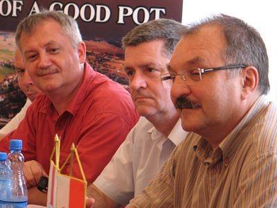 Dariusz Kwaśniewski, Wiesław Ogrodnik i Cezary Przybylski