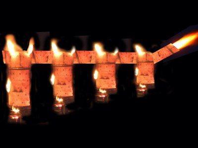 """Piec """"Arkady ognia"""" nawiązuje kształtem do bolesławieckiego wiaduktu"""