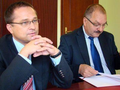 Od lewej: Robert Radoń i Cezary Przybylski