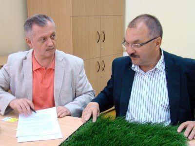 Od lewej: Dariusz Kwaśniewski i Cezary Przybylski