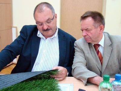 Cezary Przybylski i Stanisław Chwojnicki
