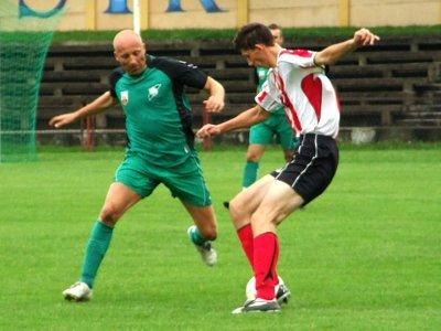 Emil Nowakowski jest najbardziej doświadczonym piłkarzem BKS
