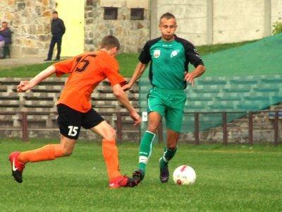 Drugiego gola dla BKS zdobył Kamil Mielnik