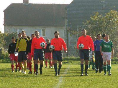 W 1/4 Okręgowego Pucharu Polski Sparta Zebrzydowa podejmowała BKS Bobrzanie