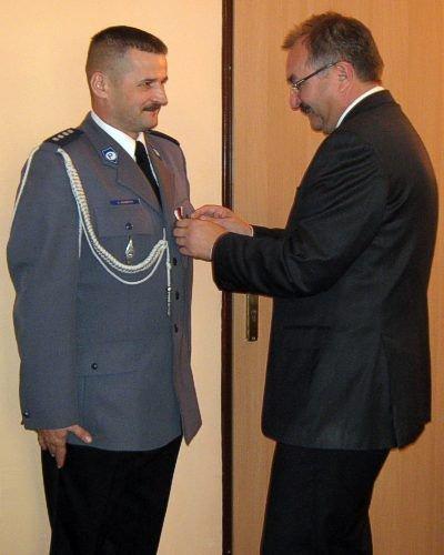 Po lewej: Jacek Bandyk