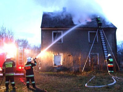 W pożarze na szczęście nikt nie ucierpiał