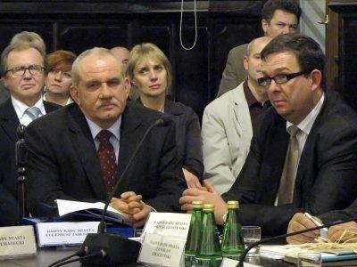 Od lewej: Eugeniusz Jabłoński i Dariusz Filistyński