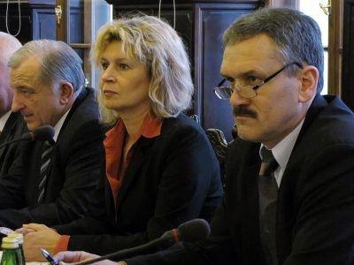 Alojzy Skóra, Renata Fredyk i Leszek Chudzik