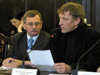 Od lewej: Stanisław Wiącek i Zdzisław Abramowicz