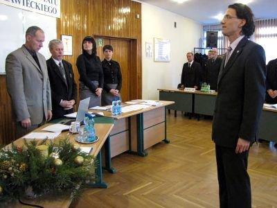 Maciej Małkowski złożył ślubowanie podczas drugiej sesji Rady Powiatu IV kadencji