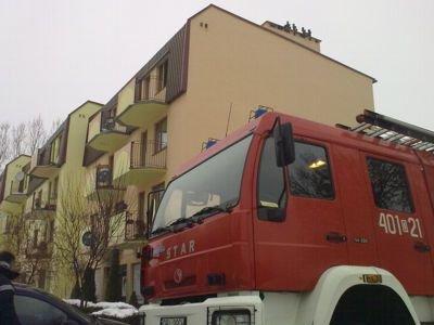 Mężczyzna mieszkał na trzecim piętrze