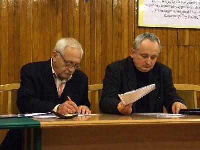 Jacek Szymczak i Jan Woch