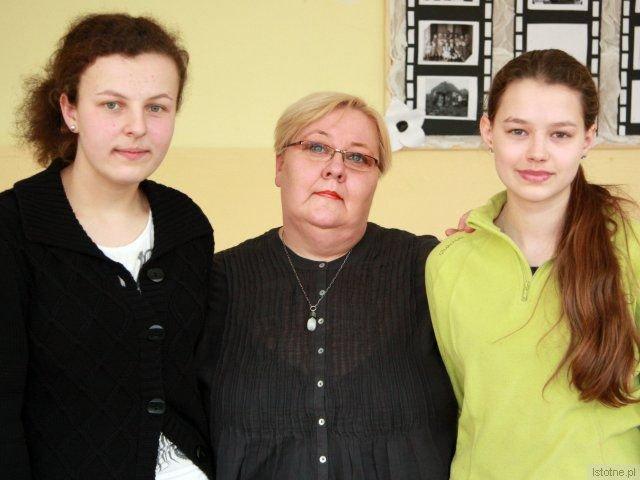 Od lewej: Iwona Rybacka, Ewa Ołenicz-Bernacka i Kamila Kamińska