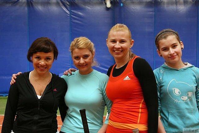Od lewej: Monika Ośko, Anna Haftarczuk, Agnieszka Groth, Klaudia Witas