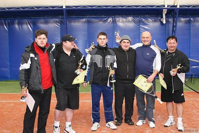 Od lewej: Dariusz Stos, Mariusz Sinica, Bartosz Stos, Bartosz Kasprzyk, Stanisław Cebulski, Henryk Partyka