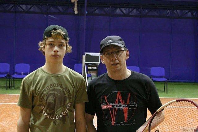 Od lewej: Tomasz Ziembikiewicz i Roman Lisak