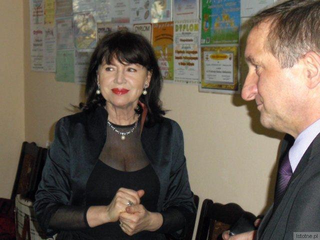 Halina Frąckowiak i Adam Maksymczyk