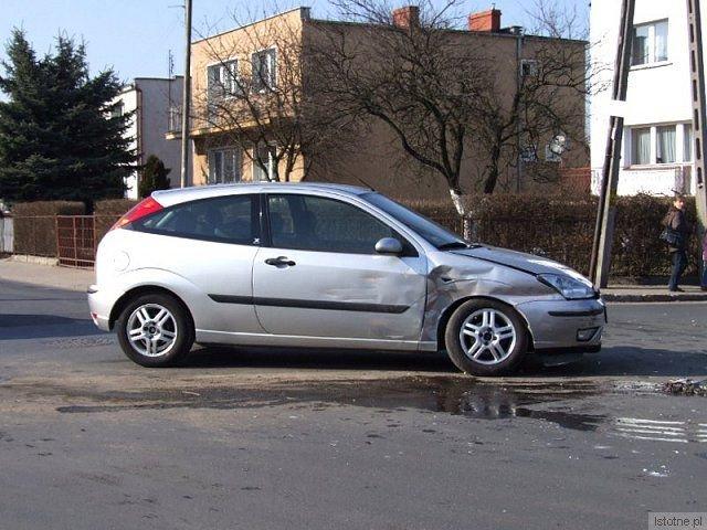 Kierowca Forda wyjeżdżał z ulicy Góralskiej