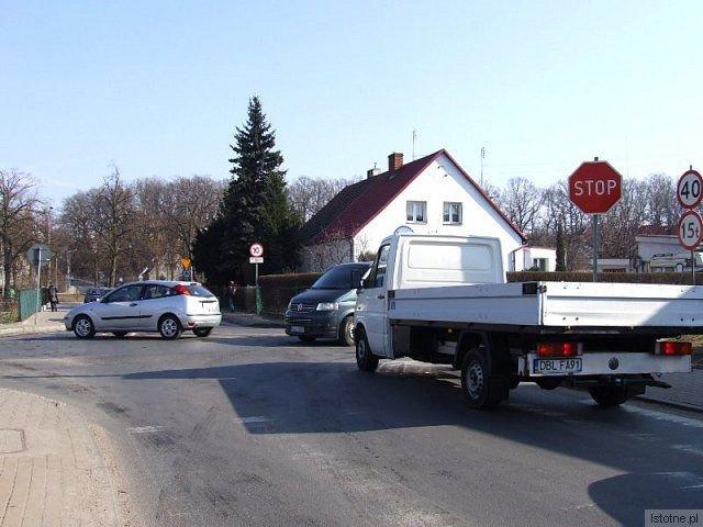 Na skrzyżowaniu ulic Staszica i Góralskiej często dochodzi do kolizji