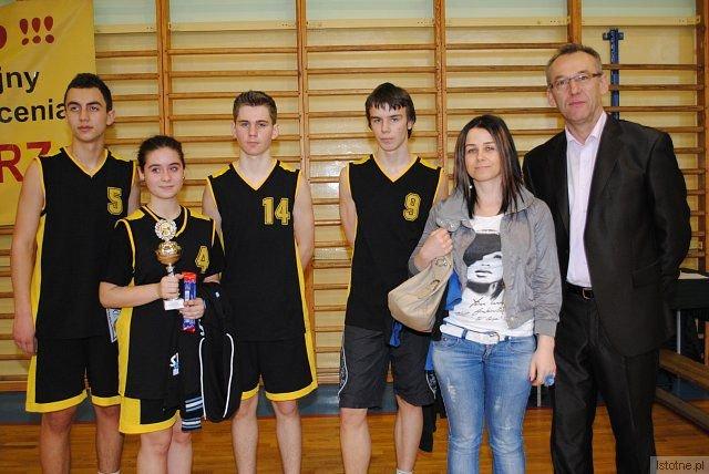 Zespół z Gimnazjum w Węglińcu