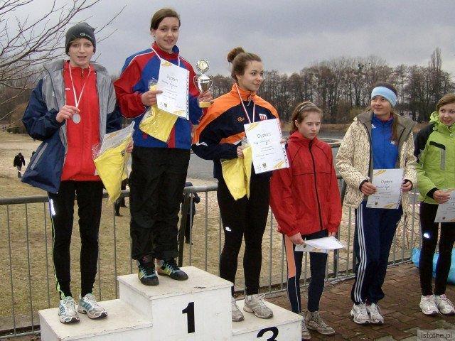 Na trzecim stopniu podium: Ewa Ochocka