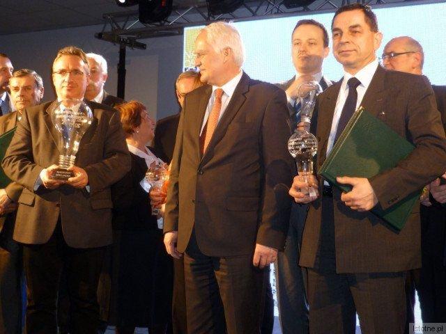 Nagrodę dla bolesławieckiego magistratu odebrał prezydent Piotr Roman