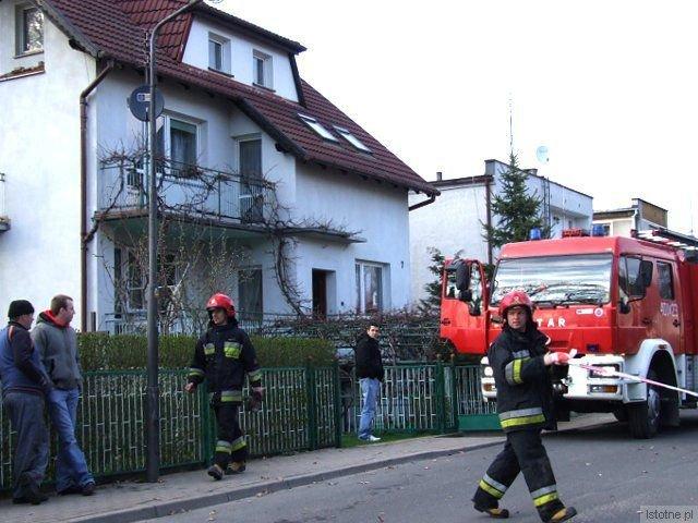 Pożar gasiły dwa zastępy straży pożarnej