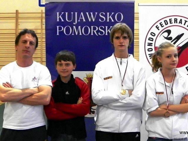 Mariusz Sulma, Mateusz Boczarski, Kamil Serafin i Paulina Stojanowska
