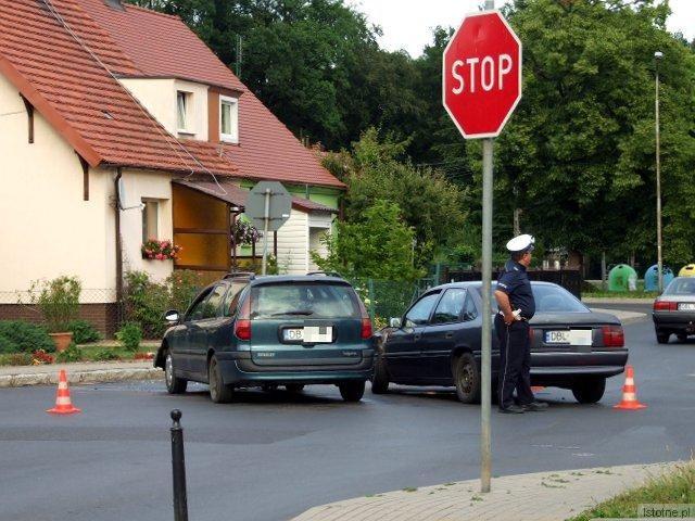 Na skrzyżowaniu ulic Staszica i Góralska często dochodzi do kolizji