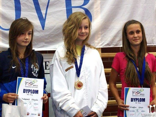 Paulina Stojanowska z UKS Ilyo zdobyła złoty medal