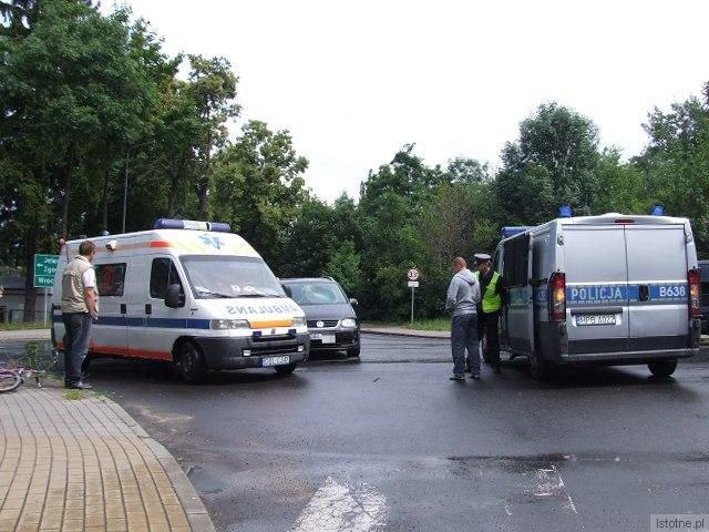Do zdarzenia doszło na skrzyżowaniu ulic Spokojna-Spółdzielcza