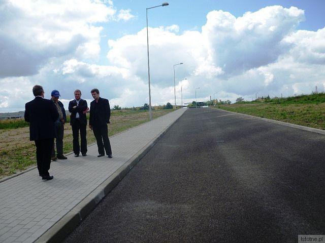Nowa droga łącząca ul. Kościuszki z ul. Przemysłową w Bolesławieckiej Strefie Aktywności Gospodarczej