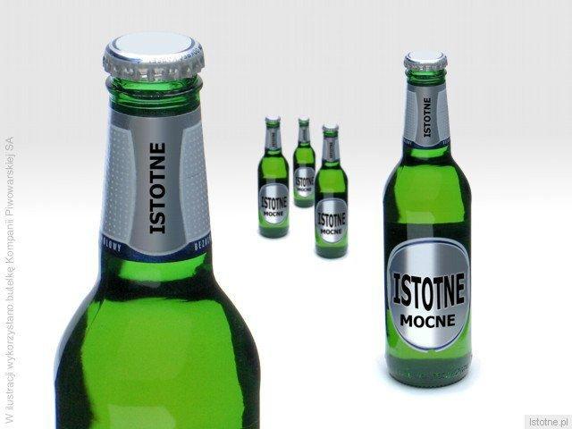 Piwo Istotne Mocne