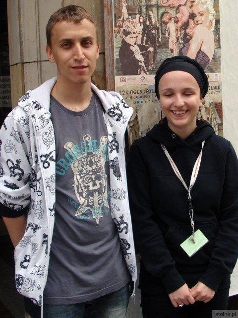 Igor Kolanowski i Kaja Kruszyńska