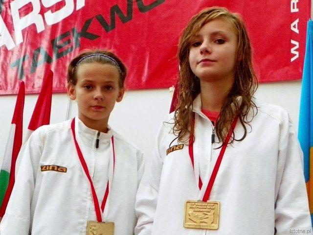 Wiktoria Knapczyk i Paulina Stojanowska