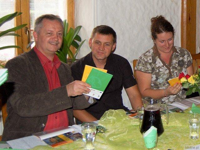 Dariusz Kwaśniewski, Kamil Błoniarz i Monika Brzuszkiewicz