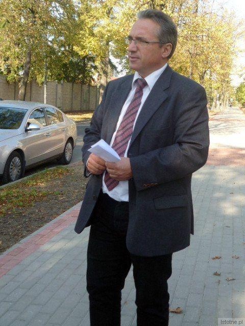 Prezydent Bolesławca Piotr Roman