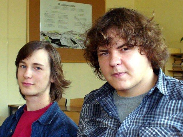 Adrian Widera i Wojciech Becla