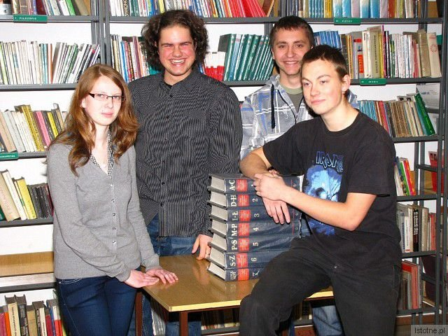 Justyna Lipińska, Adrian Prościak, Przemysław Gryczyński i Jacek Gajewski