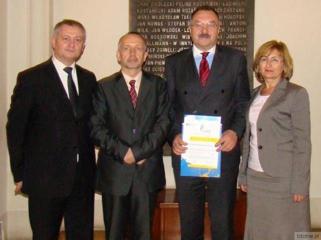 Dariusz Kwaśniewski, Cezary Przybylski i Alicja Krzyszczak