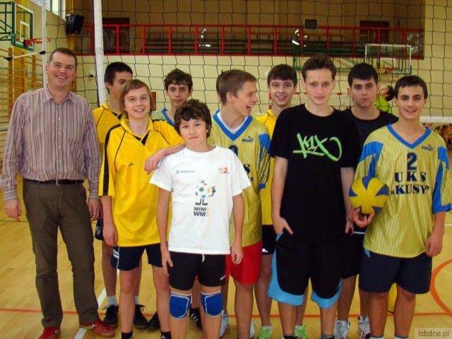 Team z GS nr 1 w Bolesławcu