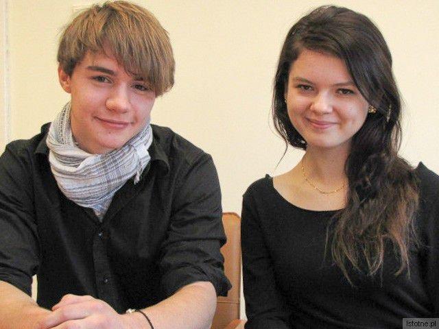 Błażej Biegasiewicz i Krystyna Stawinoga