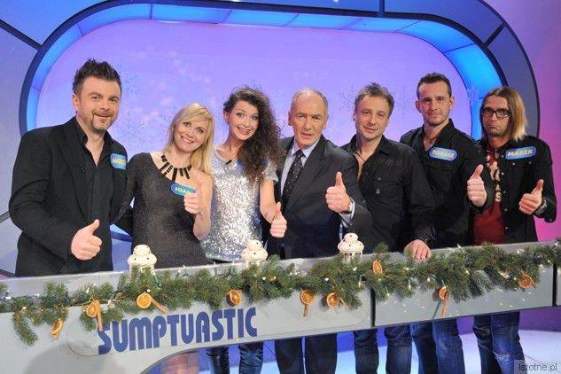 Zespół Sumptuastic w programie Familiada